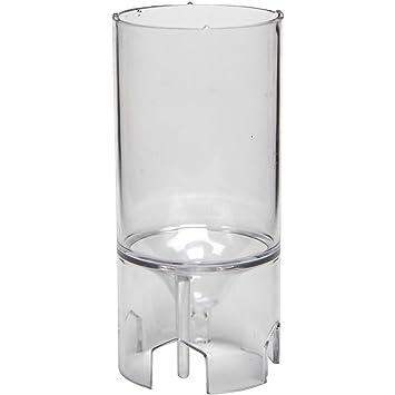 Molde para velas, medidas 65x44 mm, medida mecha 18 , Cilíndrico, 1ud: Amazon.es: Hogar
