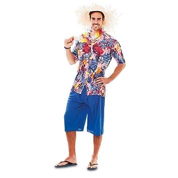 Fyasa 701808-t04 disfraz de hawaiana, grande: Amazon.es: Juguetes ...