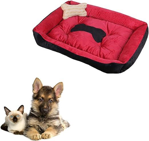 DUOBANGS Camas para Perros Grandes Cama Perro Cama para Gatos Cama Perro Pequeño Esponjoso Gato Cama