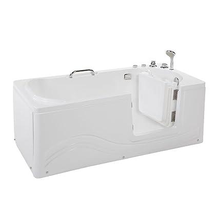 Accessori Per Vasca Da Bagno Per Anziani.Home Deluxe Vital M Vasca Da Bagno Per Anziani Incl