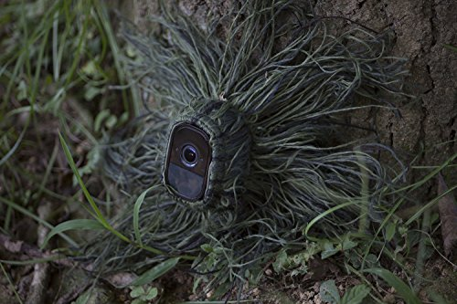 Wasserstein Ghillie Skin Compatible with Arlo Pro & Arlo Pro 2 Smart Security - 100% Wire-Free Cameras — by (2 Pack)