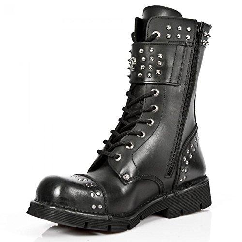 Nuovi Stivali Di Roccia M.newmili102-c1 Gotico Hardrock Punk Unisex Stiefel Schwarz