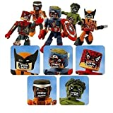 zombie hulk marvel select - Marvel Minimates: Marvel Zombies Box Set of 5