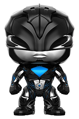 Funko POP Movies: Power Rangers Black Ranger Toy Figure (Power Ranger Black Costume)