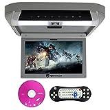 Rockville RVD10HD-GR Flip Down Monitor DVD Player