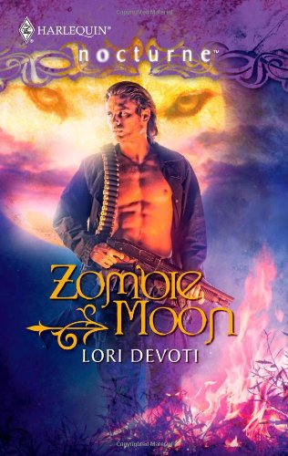 book cover of Zombie Moon