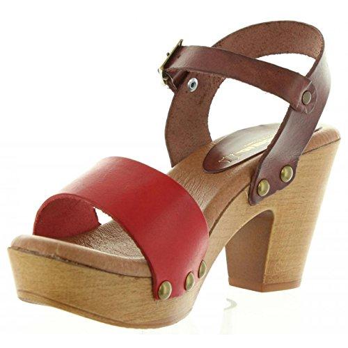 Sandalen für Damen CUMBIA 30551 ROJO