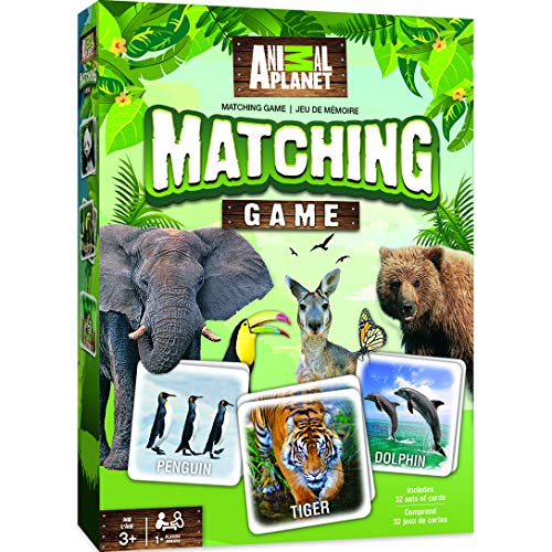 MasterPieces Animal Planet - Matching Game (Best Little Big Planet Game)