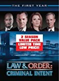 Law & Order: Criminal Intent - The First Year / Law & Order: Criminal Intent - The Second Year Value Pack