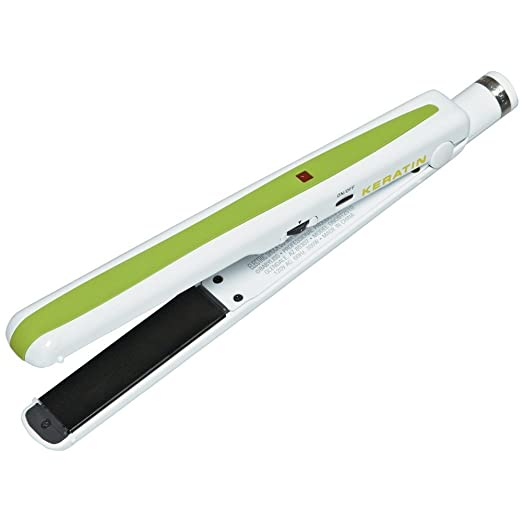 "Brazilian Tech™ Keratin 1"" Straightening Iron"