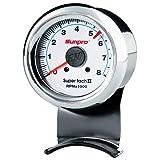 Sunpro CP7911 Mini Super Tachometer II - White Dial