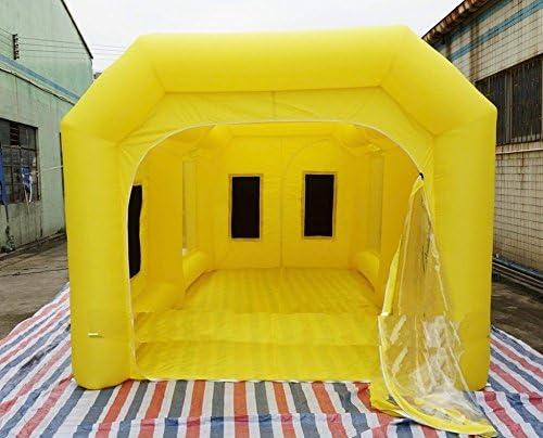 Amazon Fr Mergingx Cabine De Peinture D Exterieur Gonflable