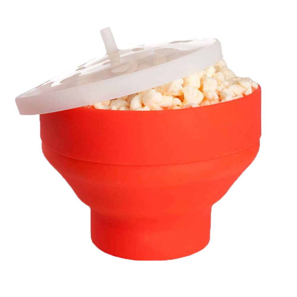 LKSIING Plegable Bowl con Tapa Recipiente para cocinar ...