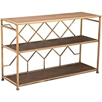 Zuo Equis Console Table, Brown