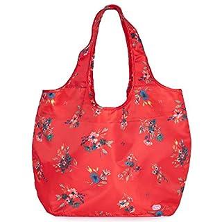Lug Eco Shopper 2-Piece Set, Bouquet Red