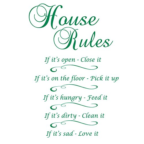 GSHouseRules_1 House rules  If it's open - close it  If it's on the