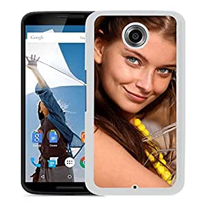 Beautiful Girl Cover Case For Google Nexus 6 With Ann Glazyrina Girl Mobile Wallpaper (2) Phone Case
