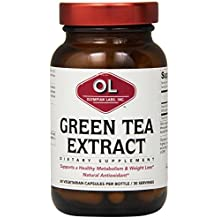 Olympian Lab Green Tea Extract, 500mg, 60-Count