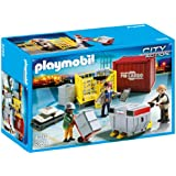 Playmobil 5259 City Action Cargo Loading Team