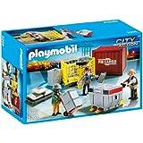 Playmobil - Equipo de carga de mercancías, set de juego (5259)
