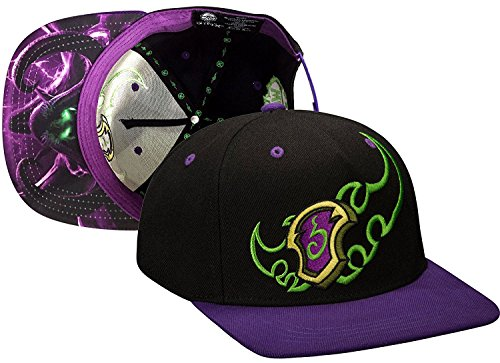 JINX-World-Of-Warcraft-Legion-Demon-Hunter-Snapback-Baseball-Hat