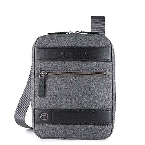 Piquadro Hombre Ca4140w84 Bolso de mensajero gris gris