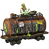 Department 56 Snow Village Halloween Toxic Waste Car Lit House, 6.69-Inch