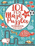 Maze Puzzle Book for Kids 4-8: 101 Fun First Mazes for Kids 4-6, 6-8 year olds | Maze Activity Workbook for Children…