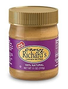 Crazy Richard's Natural Cashew Butter - 11oz Jar