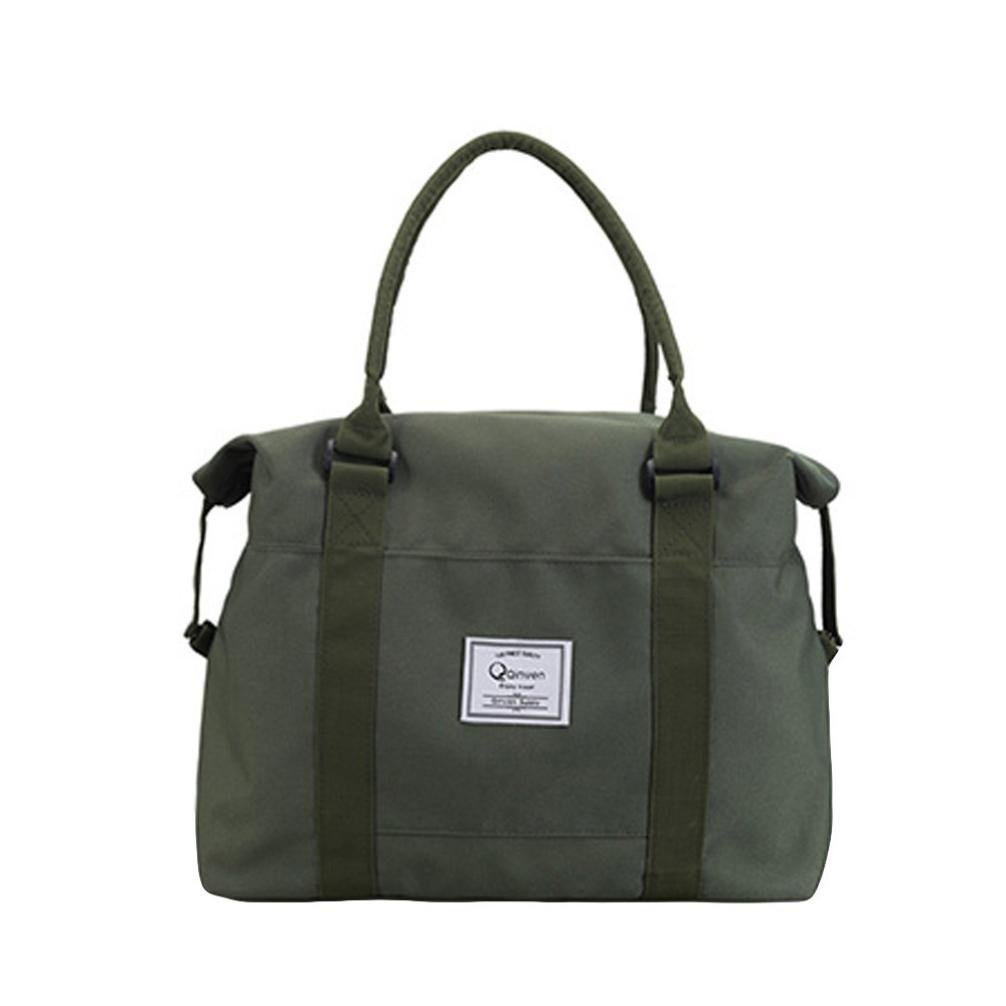 Cinhent Bag Sports Bag Newly Women Messenger Bags, 16.1 × 5.1 × 16.1'', Oxford Casual Big Size Tote, Washable Carry Large Capacity Girls Shoulder Bag (Green)
