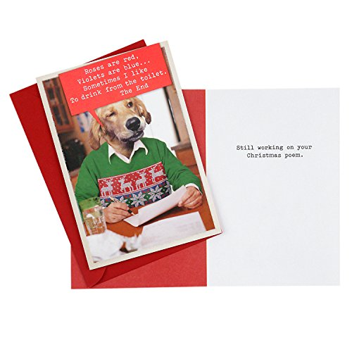 Hallmark Shoebox Funny Christmas Cards Multipack (5 Holiday Cards, 5 Envelopes) Photo #6