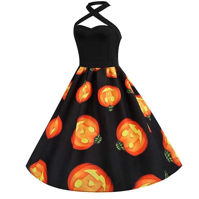 Vestido De Fiesta, Halloween para Mujer De Moda Vestido De Fiesta ...