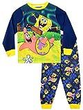 Spongebob Boys Sponge Bob Squarepants Pajamas Size 12 Blue