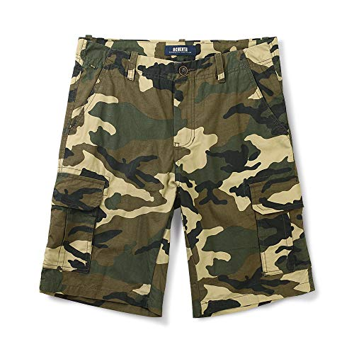 Cargo Slant Pockets Shorts - OCHENTA Men's Lightweight Multi Pocket Casual Cargo Shorts M Camo 32