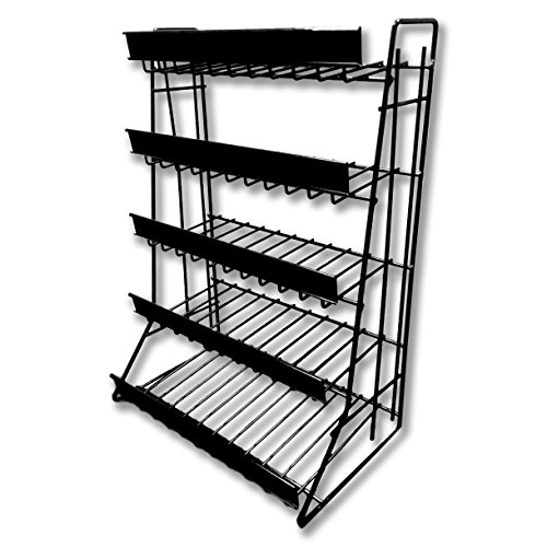5 Tier Counter Top Snack Rack - Candy Shelf with 1.5