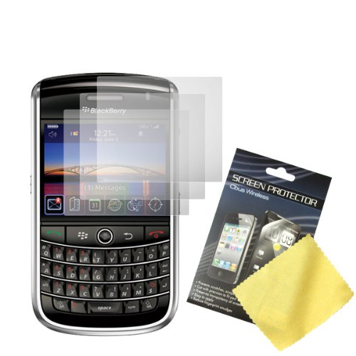 (TEIROO 113089 Three LCD Screen Guards/Protectors/Films for BlackBerry Bold 9650/ Tour 9630 )