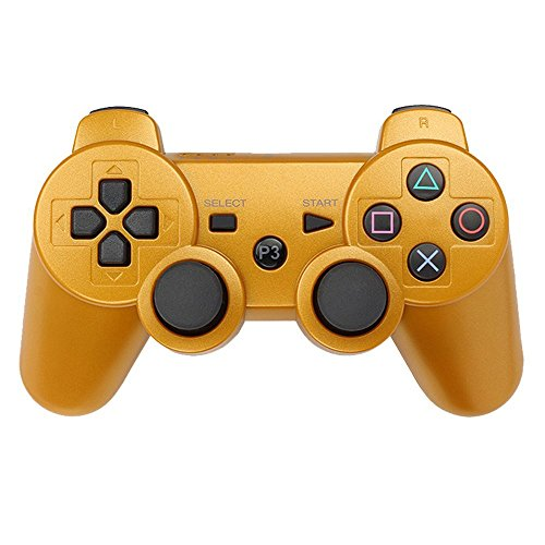 PS3 Controller Wireless Bluetooth Six Axis Dualshock Game Controller for Sony PlayStation 3 PS3 (Used Ps3)