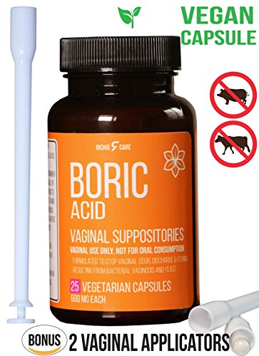 Top 10 best boric acid suppositories bacterial vaginosis