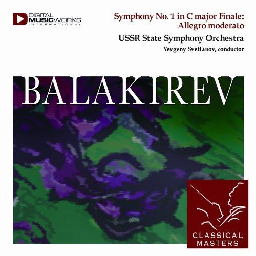 - Symphony No. 1 in C major Finale: Allegro moderato