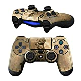 Cheap MODFREAKZ Pair of Vinyl Controller Skins – Desert Military Fight Helmet for Playstation 4