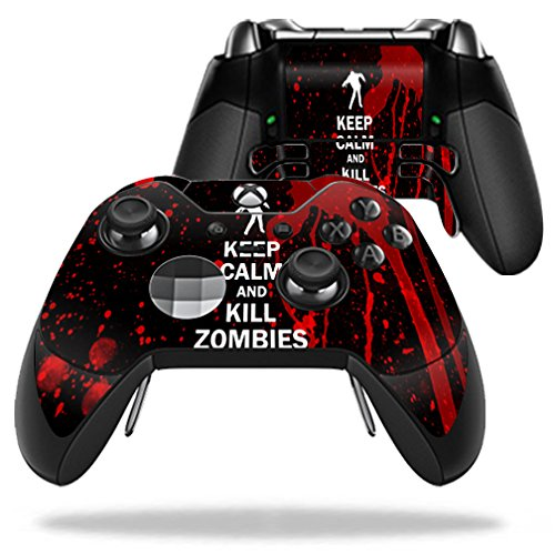 MightySkins-Protective-Vinyl-Skin-Decal-for-Microsoft-Xbox-One-Elite-Wireless-Controller-case-wrap-cover-sticker-skins-Kill-Zombies