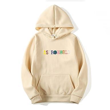 4b827e0002e2 Amazon.com: Men Hoodies Travis Scott Astroworld Wish You were HERE  Sweatshirt: Clothing
