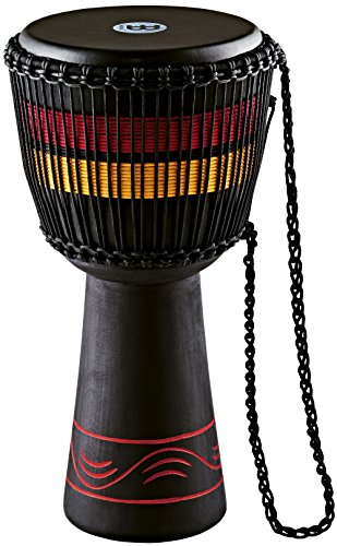 Stand Djembe Percussion (Meinl Percussion ADJ7-L African Style Fire Rhythm Series Rope Tuned 12