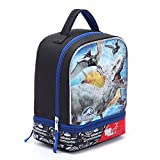 Jurassic World Dinosaurs Park Lunch Bag Box Kit with Strap