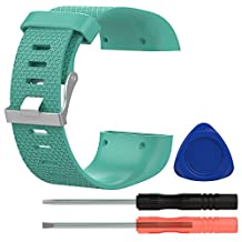 For Fitbit Surge bands Chofit Silicone Replacement watch band Sport Wristband with accessory Straps for Fitbit Surge Fitness Superwatch Small 5.5''-6.3''