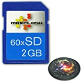 Accessory Power 2 GB / 2048 MB Secure Digital SD Card Use w/ Digital Cameras , Camcorders, MP3's & Your Nintendo ** Includes Designer Mousepad ***