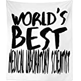 Westlake Art Worlds Best Medical Laboratory Scientist - Wall Hanging Tapestry - Sayings Artwork Home Decor Living Room - 68x80 Inch (2001-CE6BD)