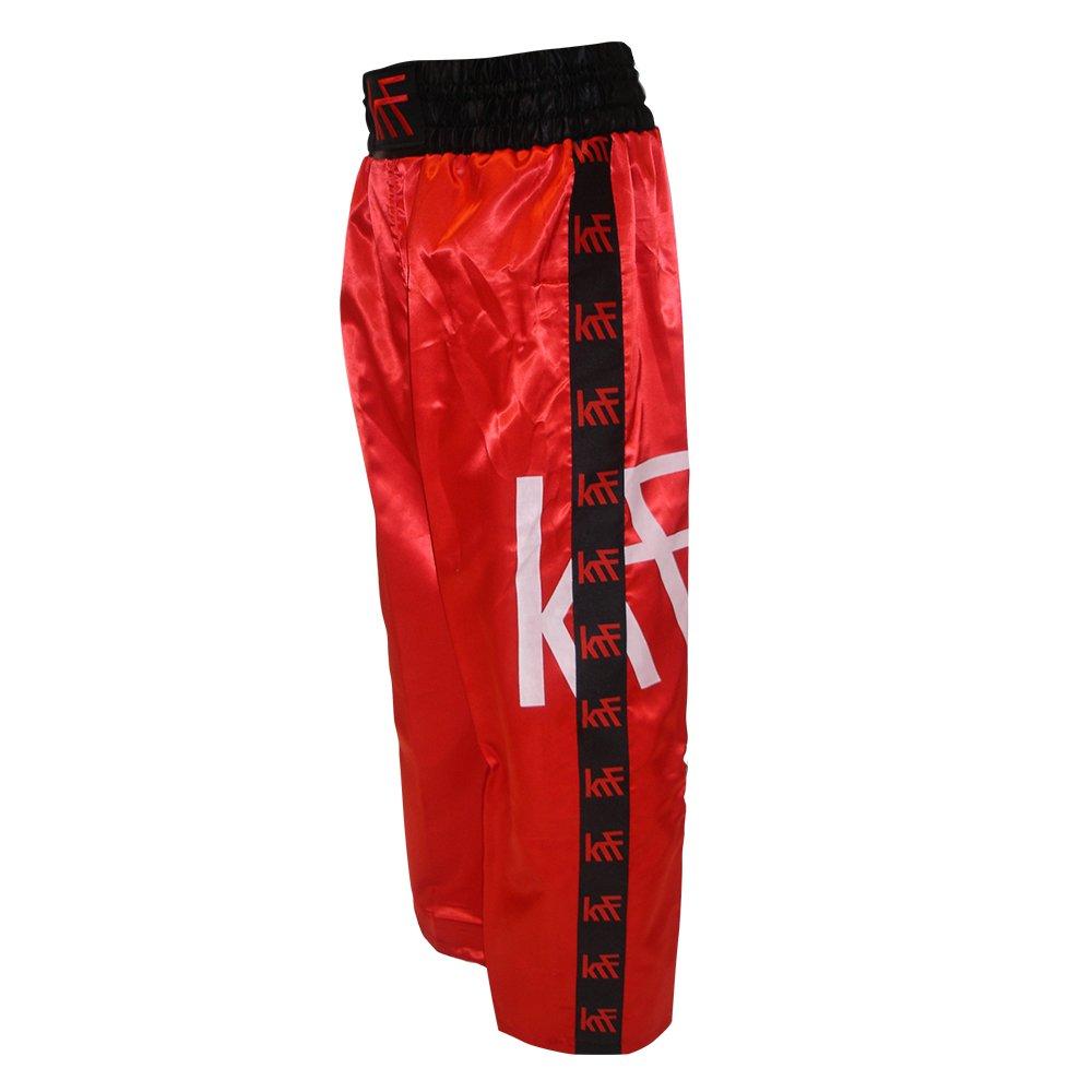 KRF Feel The Enemy Kick Box Pantalons Longs De Boxe, Homme