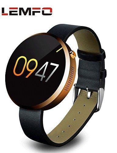 Amazon.com: Lemfo DM360 MTK2502A 1.22 Inch Bluetooth Smart ...
