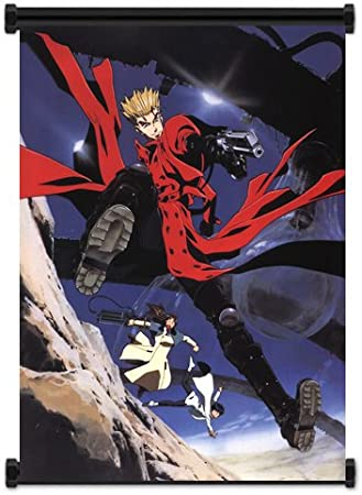 Trigun Manga Anime Animation Pistol Giant Wall Art Poster Print